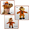 TeamHeads® - Texas Longhorn Mascot Hat and Plush by TEAMHEADS