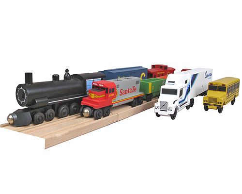 Toydirectory Chicagos Own Metra Passenger Train Set From Whittle