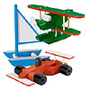 Transportation Set: Formula 1, Bi-Plane, Catamaran by WOODLAND MAGIC IMPORTS