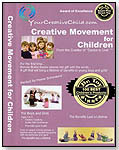Creative Movement for Children - DVD by YOURCREATIVECHILD.COM