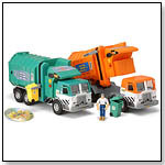 Tonka Mighty Motorized Side Loading Sanitation Truck by FUNRISE INC.