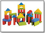 IQ Preschool 50 Unit Blocks of Fun in Color by SMALL WORLD TOYS