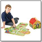 ZipBin® Train Depot Play Set by NEAT-OH! INTERNATIONAL LLC