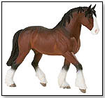 Blue Ribbon Horse Collectibles Clydesdale by SAFARI LTD.®