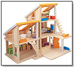 Chalet Dollhouse With Furniture by PLANTOYS