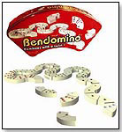 Bendomino, Dominoes With a Twist by BLUE ORANGE GAMES