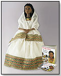 Makeda™, The Queen of Sheba Doll/Book and CD Narration by ETHIDOLLS