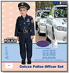 Deluxe Police Officer Set by DRESS UP AMERICA TOY INC.