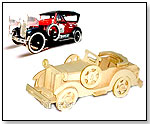 3D Puzzle Wooden Craft Construction Kit – Vintage Car by CHINA TOWINS GIFTS & TOYS CO. LTD.