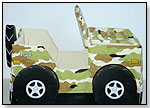 Jeep Toy Box – Green/Tan by EXCEPTIONAL PLAYTHINGS