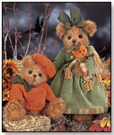 Pumpkin & Patch and Pippin Pumpkinseed by BEARINGTON COLLECTION