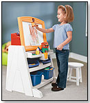 Flip & Doodle Easel Desk with Stool by THE STEP2 COMPANY