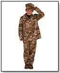 Boy Deluxe Costume Line - Soldier by LITTLE ADVENTURES LLC