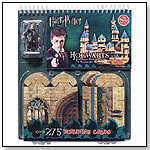 Harry Potter Hogwarts School of Witchcraft and Wizardry Building Cards by KLUTZ