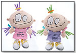 "Co-edikit® 8"" Plush – ""Don't Make Me Kick You"" and ""Here I Am! What Were Your Other 2 Wishes?"" by FIESTA"