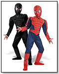 Spider-Man Reversible Deluxe Action Suit by DISGUISE INC.