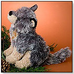 Dusk, the Sitting Wolf by DOUGLAS CUDDLE TOYS