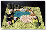 MBS Pond Kit by MODEL BUILDERS SUPPLY