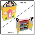 Poodles in Paris Bookcase by LC CREATIONS
