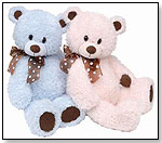 Tickled Pink and Blue Beary by FIRST & MAIN INC.