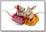 Town Mouse and Country Mouse by STEIFF NORTH AMERICA