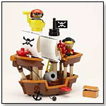 Play Town Pirate Ship Playset by LEARNING CURVE