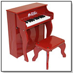 Red Elite Spinet by SCHOENHUT PIANO COMPANY