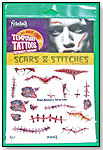 Nitefall Halloween Collection Temporary Tattoos – Scars & Stitches by SAVVI