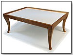 N51F French Leg Table (Stained) by NILO TOYS