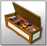 N32D Toy Chest (Stained) by NILO TOYS