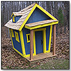 Kids Crooked House - Standard Playhouse by KIDS CROOKED HOUSE