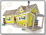 Kids Crooked House - Wagon Playhouse by KIDS CROOKED HOUSE