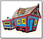 Crooked Train Playhouse by KIDS CROOKED HOUSE