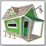 Crooked Restaurant Playhouse by KIDS CROOKED HOUSE