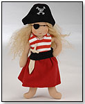 Käthe Kruse Puppen Waldorf Pirate Girl by EUROPLAY CORP.