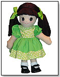 Adorable Kinders Rag Dolls Qiana by GRANZA INC.
