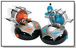Interactive R/C Bump N Chuck Space Bumper Cars by KID GALAXY INC.