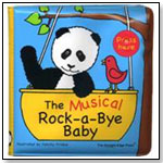 Rock-a-Bye Baby Musical Rub a Dub™ Book by THE STRAIGHT EDGE INC.