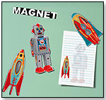 Robot & Rocket Magnets by COELACANTH