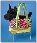 Holiday Tote with Black Scottish Terrier by DOUGLAS CUDDLE TOYS