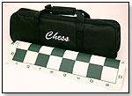 Tournament Chess Set with Canvas Bag by WOOD EXPRESSIONS INC.