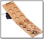 Wood Folding Mancala - African Stone Game by WOOD EXPRESSIONS INC.