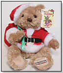 Merry Christmas Teddy Bear by HERRINGTON TEDDY BEAR COMPANY