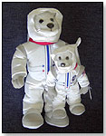NASA Astronaut Bears by TIMELESS TOYS