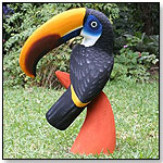 Balsa Wood Carving – Toucan on Base by THE ETHNIC COLLECTION S.A.