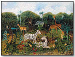 Jungle Scene by J.C. AYER & COMPANY