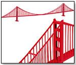 Golden Gate Bridge by PAPERLANDMARKS