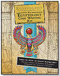 Egyptology Code-Writing Kit by CANDLEWICK PRESS
