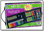 80-Piece Art Kit by LOEW-CORNELL INC.