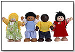 Multicultural Kids Doll Set by TOP SHELF HOLDINGS LLC